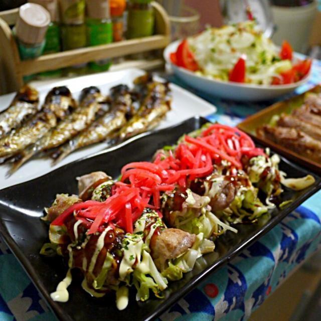 今日は 巻き巻きDay♪(о´∀`о) - 23件のもぐもぐ - お好み肉巻き  セロリ肉巻き  丸干しイワシ  オニオンサラダ by YokoIshikawa