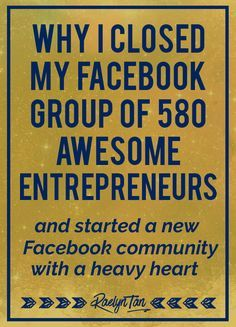 facebook how to close group