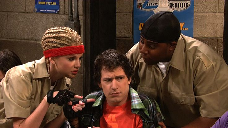 Two ex-cons (Kenan Thompson, Taylor Swift) from the Scared Straight program use movie plots from Top Gun, The Sound of Music and Back to the Future to scare kids who were busted for joyriding. [Season 35, 2009]