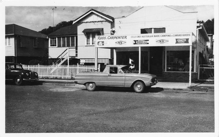 1950's James St, Burleigh Heads. Gold Coast, Australia Home of Finch Swim #vintage #swimwear #FinchSwim