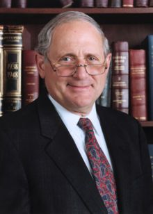 Carl Levin, Democrat, senior United States Senator from Michigan, serving since 1979. He is the Chairman of the Senate Committee on Armed Services.