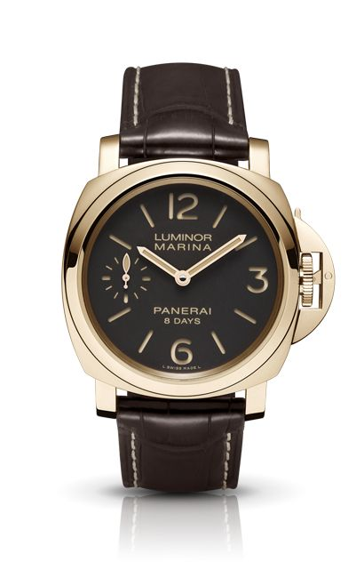 LUMINOR MARINA 8 DAYS ORO ROSSO PAM00511 - Collection LUMINOR - Watches Officine Panerai