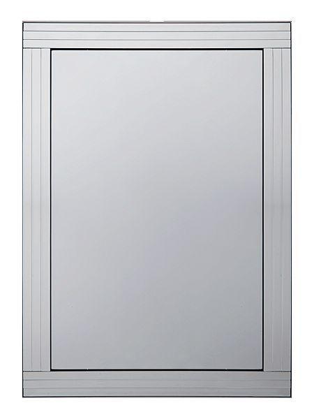 Triple bevel mirror 74cm x 105cm
