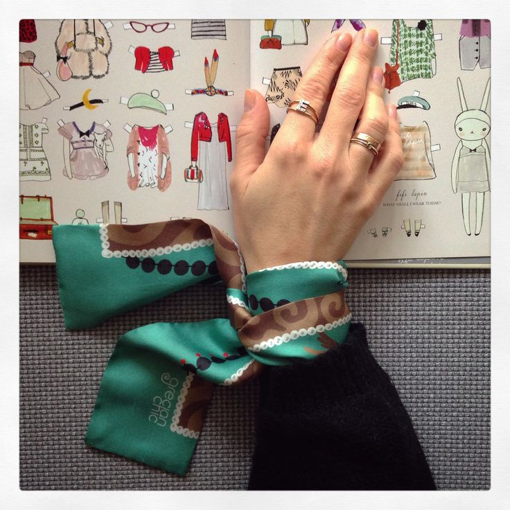 """""""Be a Greek"""" silk ribbon specially designed for Katerina Ioannidis by Grecian Chic!"""