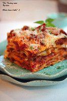 제대로 만드는[라자니아]산뜻한 맛의 토마토미트소스에 곁들인 소세지 라자냐~일품요리/주말요리 : 네이버 블로그