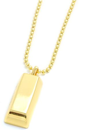 Flud Watches- Gold Bar Necklaces