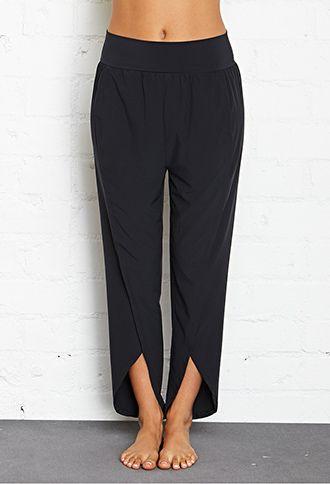 Stylish Elastic Rib Yoga Pants – Sport