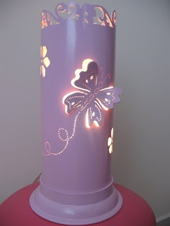 Luminária de PVC / PVC lamp