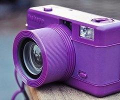 purple camera, colorful   Tumblr