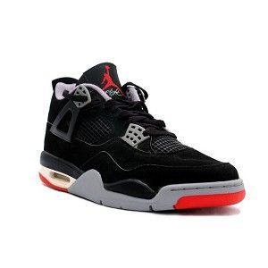 2013 new air jordan shoes arrived! Air Jordan 4 IV Retro Shoes - Black  Cement
