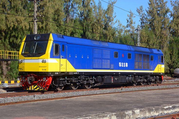 CSR Diesel-Electric Locomotive in Sathani Khon Kaen, Thailand