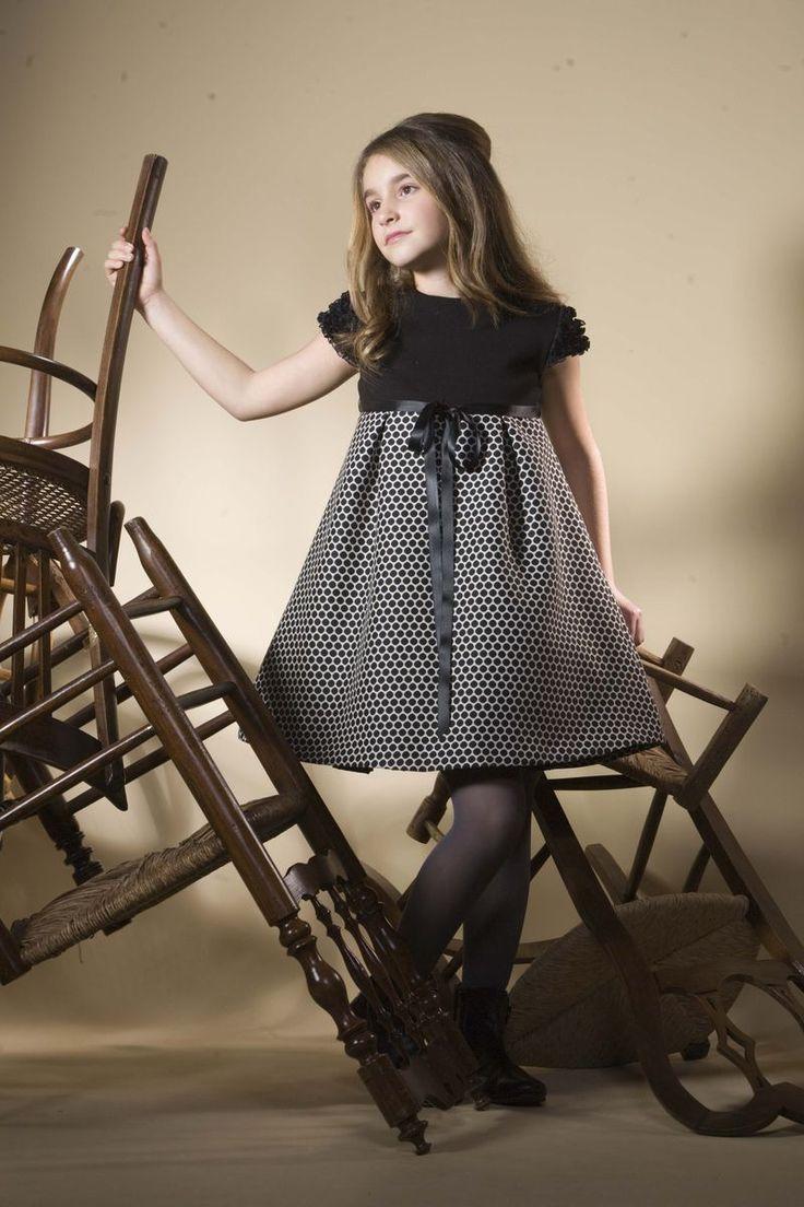 платье А-силуэта для полных девочек