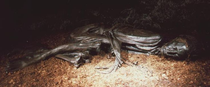 The Tollund Man is unusually well-preserved
