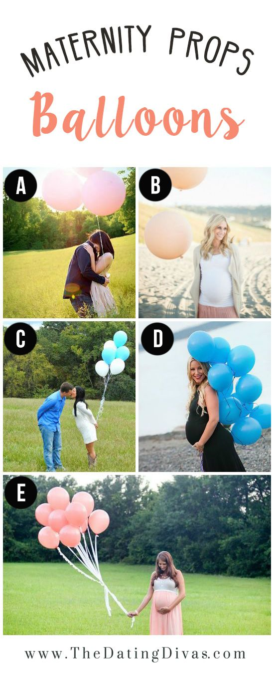 White balloons I think would work best. Maybe yellow and green but I think white would be more simple and clean. I like A but we wont have that gorgeous back drop. Could also have O in foreground with balloons and us blurred in background? Not sure if that would work? J