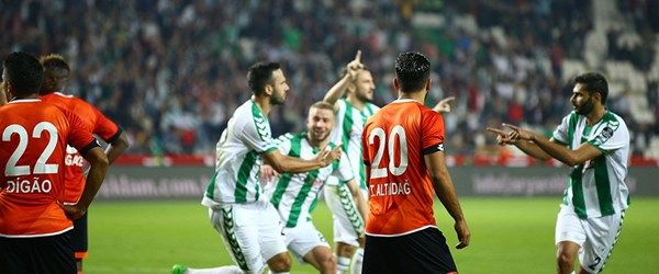 Konyaspor tek golle