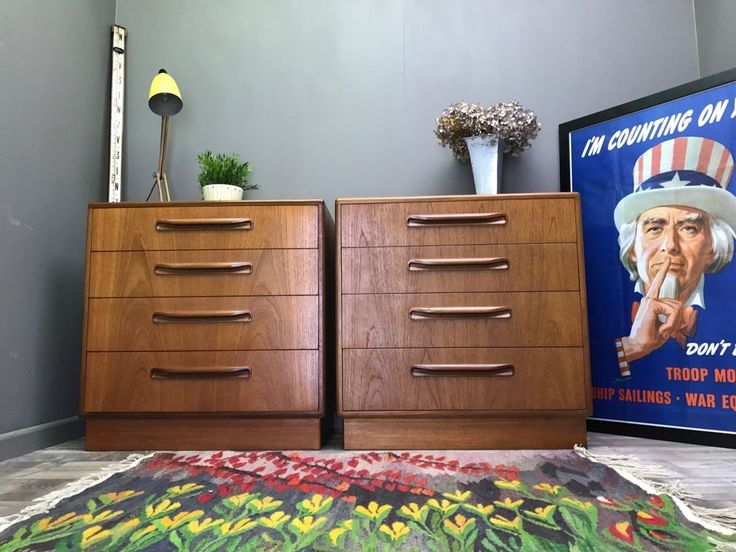 Every item is oiled and carefully checked over. Chest of Drawers. Nest of Tables. Pair of G Plan Drawers. Side / Bedside Tables. Overall this is a nice pair of drawers. Coffee Tables. The drawers have nice handles and plenty of storage. | eBay!