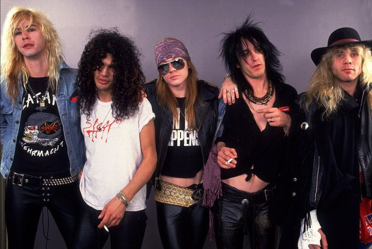 A photo of Guns N' Roses by Paul Natkin | MTV