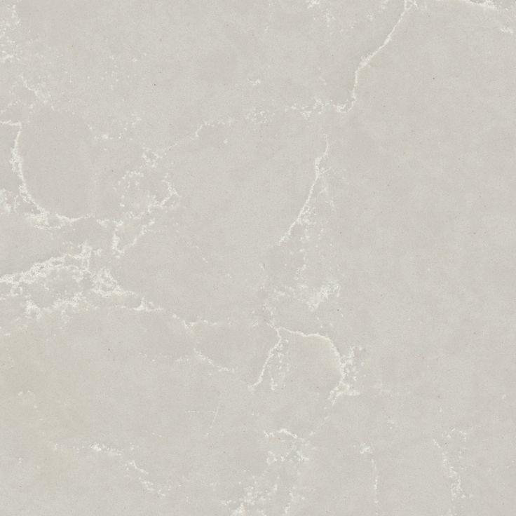 5110 Alpine Mist™ by Caesarstone - A white cool grey background with crisp white veins.