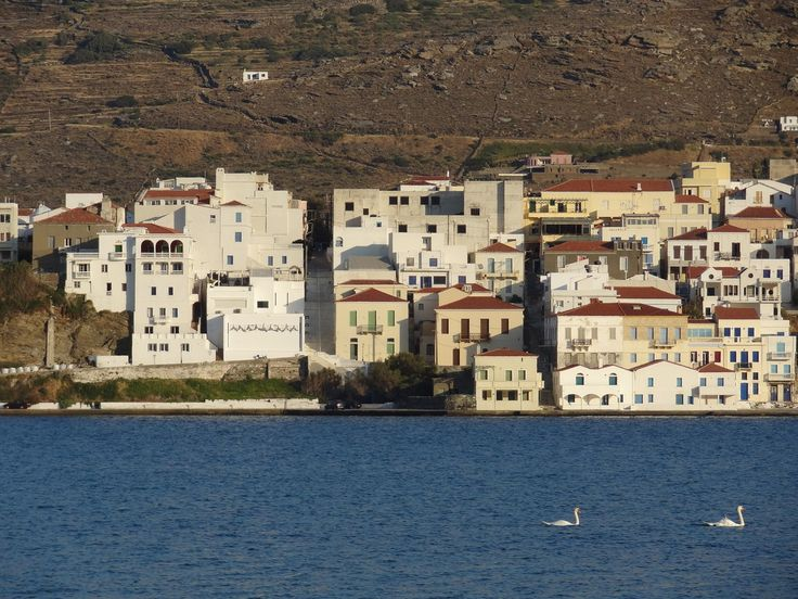 A photo, almost like a painitng Andros, Chora