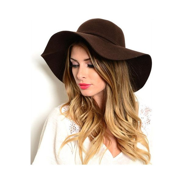 Forever Boho Floppy Hat (575 UAH) ❤ liked on Polyvore featuring accessories, hats, floppy hat, beach hat, bohemian hat, summer hats and floppy summer hat