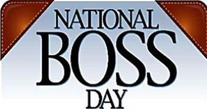 October 16 is National Boss Day