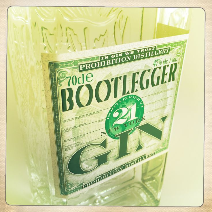 Prohibition Distillery , Bootlegger 21 Gin & Vodka  New York , gluten free #glutenfree #vodka #gin #bootlegger #prohibitiondistillery