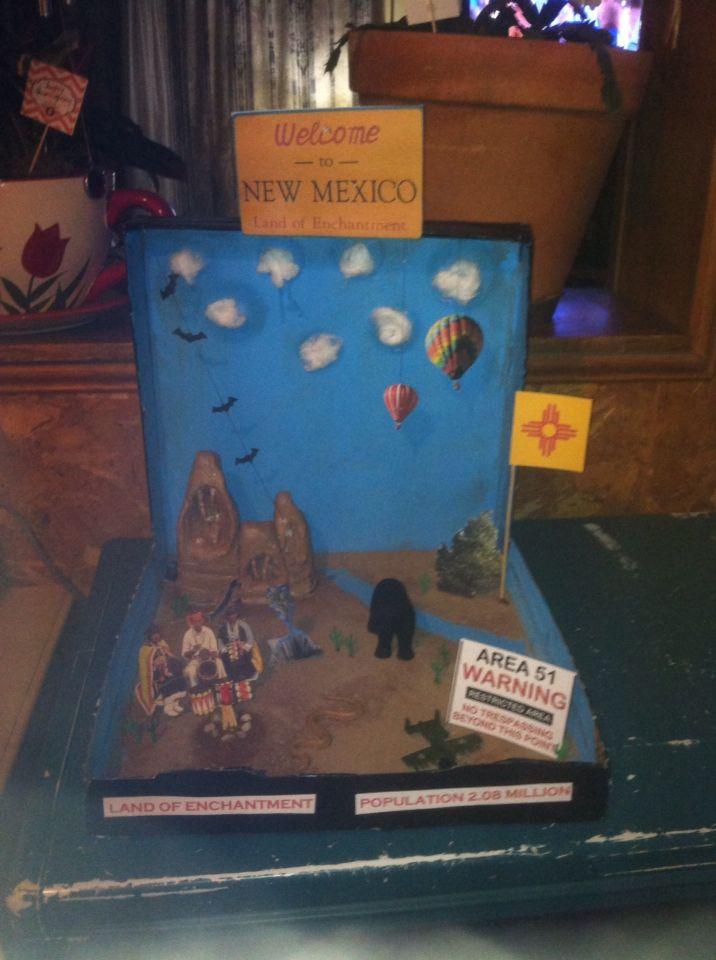 Diorama Book Report 3rd Grade Middle School Art