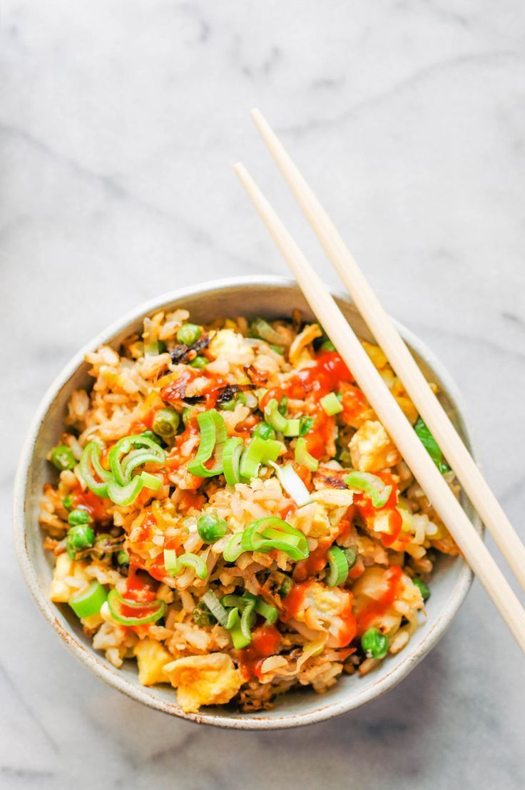 Leek Pea Fried Rice Recipe In 2018 Lunch And Dinner Recipes