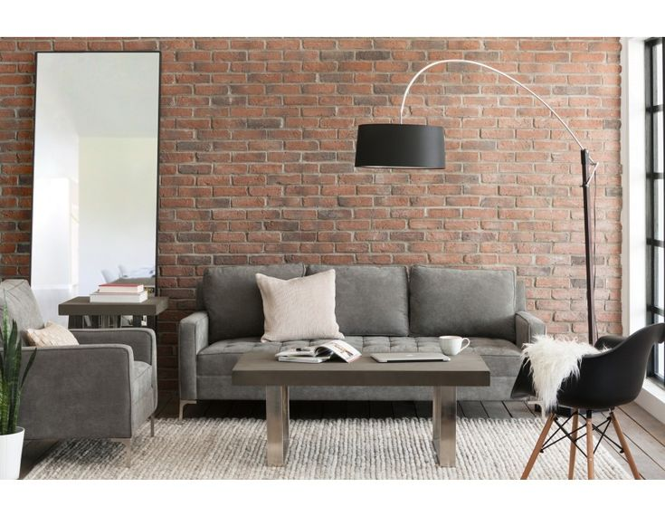 MIAMI - 3-seater sofa - Grey