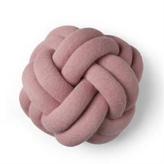Knot pillow - pink - Design House Stockholm