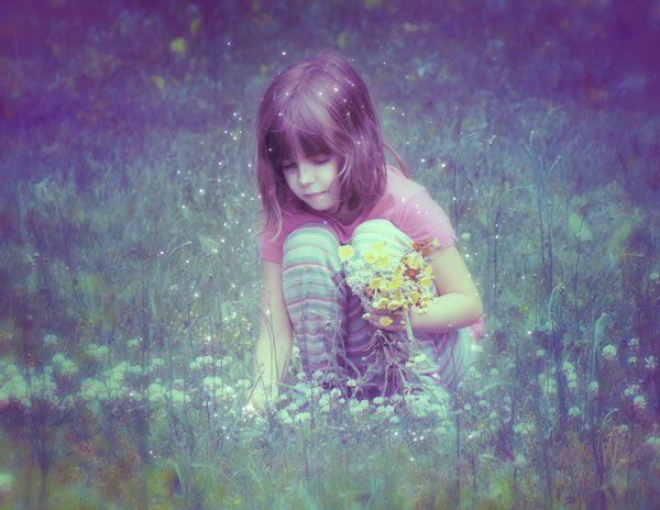 Сказочный эффект для фотографии · «Мир Фотошопа»