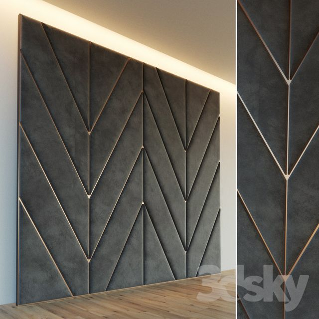 Decorative Wall. Soft Panel. 28