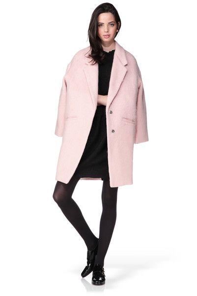 17 meilleures id es propos de manteau rose poudr sur pinterest tenues converse rose blazer. Black Bedroom Furniture Sets. Home Design Ideas