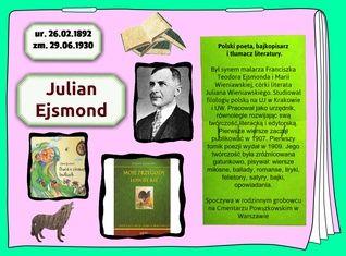 Julian Ejsmond (26.02.1892-29.06.1930)