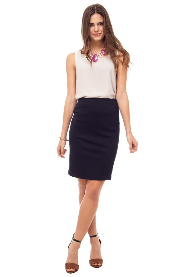 Paige Pencil Skirt.