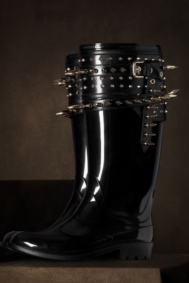 The Burberry Regent Street Collection Wellies