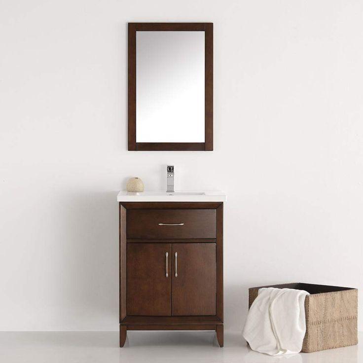 Fresca Cambridge 24 inch Traditional Single Bathroom Vanity FVN2124