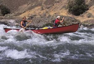Moab Utah Whitewater Canoeing Trip with Moab Rafting & Canoe Company