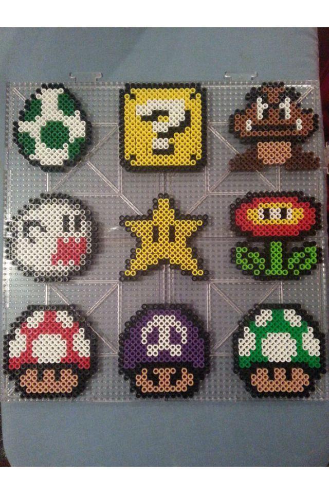 Mario perler