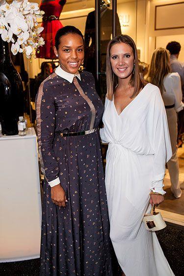 Lublu Flagship Store Opens in Dallas: Jessica Nowitzki and Kira Plastinina