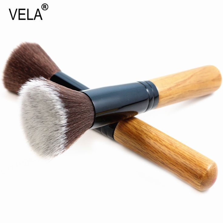 Flat Top Powder Brush Viso Professionale Strumenti di Trucco Kabuki Brush