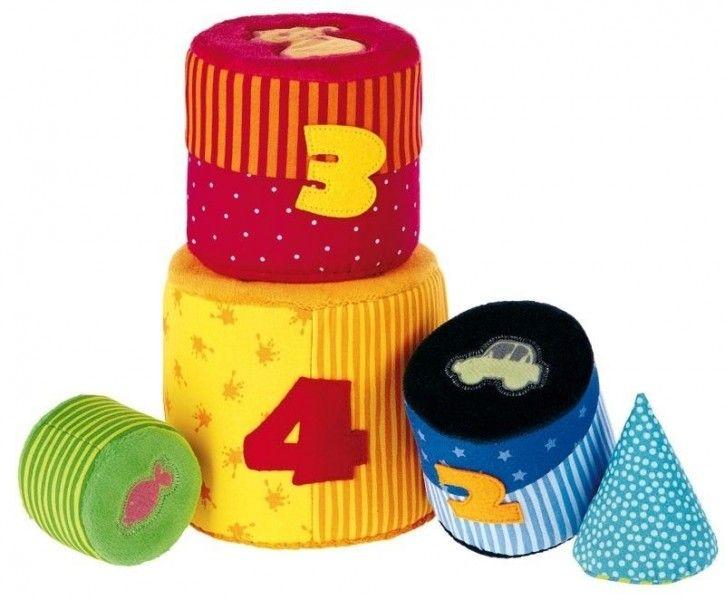 #PIRAMIDY PQ Baby Wieża materiałowa, SIGIKID - PomocnicyMamy.pl cena 120