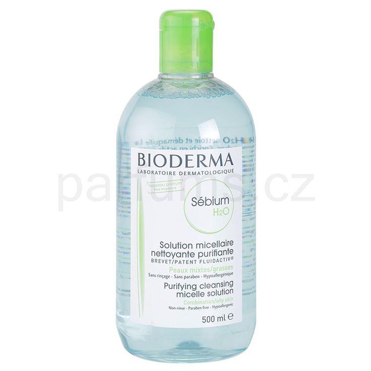 Bioderma Sébium H2O micelární voda pro smíšenou a mastnou pleť