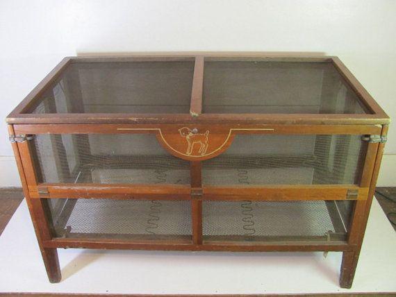 Kiddie Koop - Really?  {Antique 1940's Kiddie Koop baby bed/crib by auctiongirl on Etsy, $295.00}
