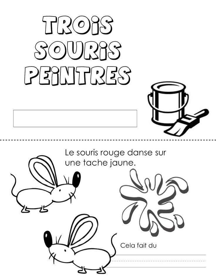 Les trois souris peintres - Madame Belle Feuille