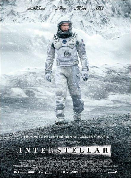 Interstellar, de Christopher Nolan (2014) - Affiche