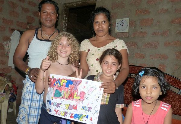 Breathing-Taking & Heart-Warming- Diwali 2013 in Goa, India- Family Travel World-Schooling Delights