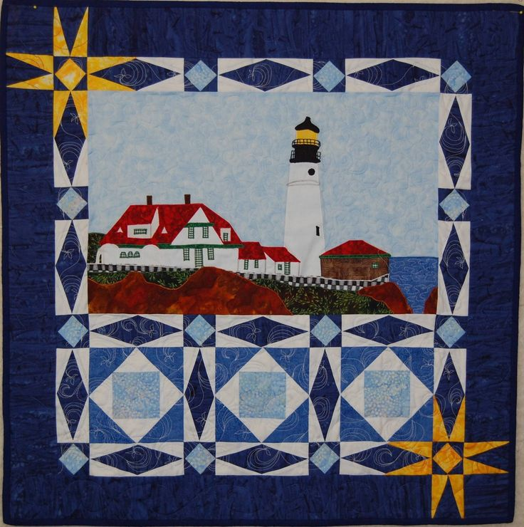 Quilting Lighthouse Patterns : 875 best images about storm at sea my favorite pattern on Pinterest
