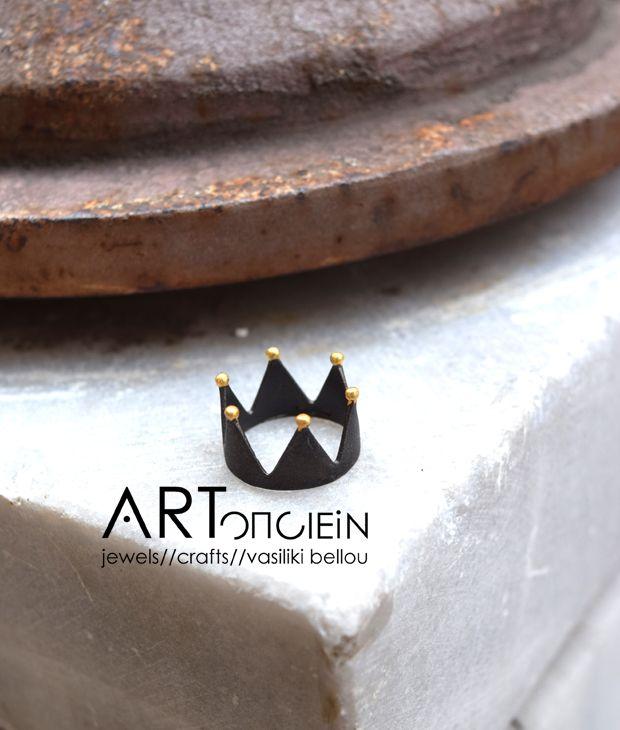 Δαχτυλίδι Κορώνα Πριγκιπώ