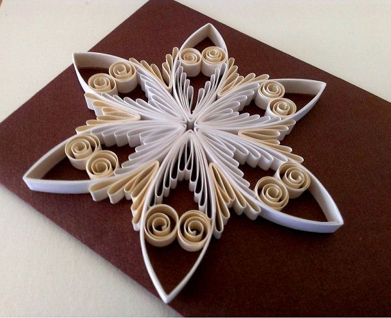 Quilling pattern / tutorial / how to Christmas ornament